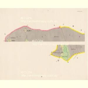 Pressnitz (Prissetnice) - c6248-1-001 - Kaiserpflichtexemplar der Landkarten des stabilen Katasters