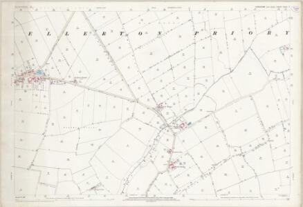 Yorkshire CCVII.7 (includes: Ellerton) - 25 Inch Map