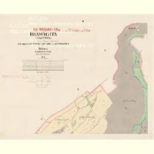 Hraschtitz (Hrasstice) - c6977-1-002 - Kaiserpflichtexemplar der Landkarten des stabilen Katasters