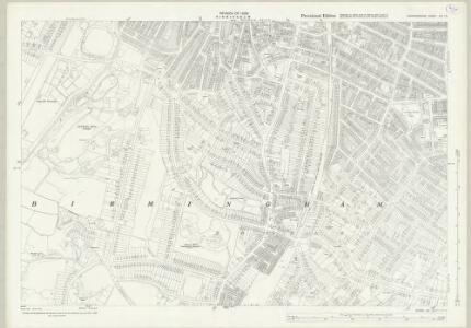 Warwickshire XIV.13 (includes: Birmingham) - 25 Inch Map
