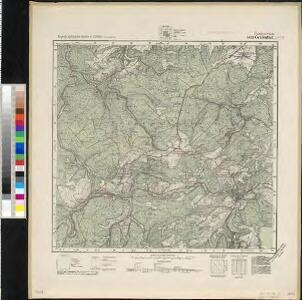Meßtischblatt 5433 : Gräfenthal, [nach 1945]
