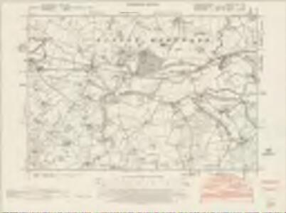 Worcestershire XVIII.NE - OS Six-Inch Map