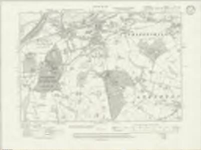 Cheshire XVI.SE - OS Six-Inch Map