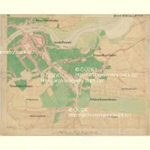 Prerau (Přerow) - m2453-1-013 - Kaiserpflichtexemplar der Landkarten des stabilen Katasters