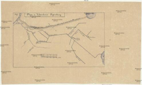 Plan der Vehncolonie Papenburg