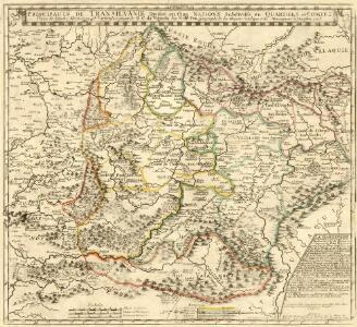 Principauté de Transilvanie Devisée en Cinq Nations Subdivisée en Quartiers et Comtez