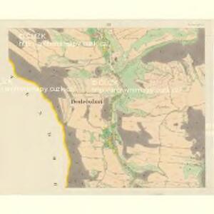 Bodelsdorf (Bochdalow) - m0126-1-003 - Kaiserpflichtexemplar der Landkarten des stabilen Katasters
