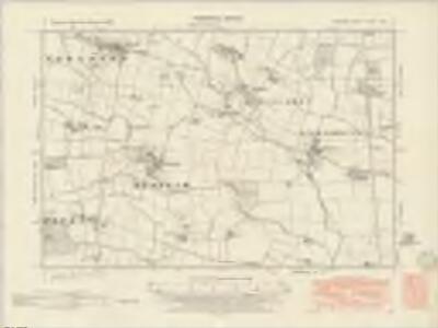 Durham XLVIII.SW - OS Six-Inch Map