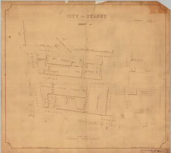 City of Sydney, Sheet J4, 1901