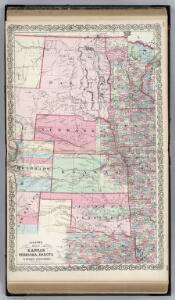 Kansas, and Nebraska and Indian Territories.