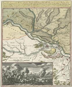 Eigentlicher Entwurf der Weltberühmten Stadt und Vestung Belgrad, samt der auf 13. Meilen sich erstreckenden Gegend