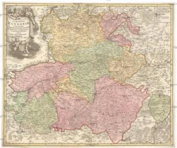 Comitatus Hannoniae in suas quasque castellanias balliviatvs praefecturas et territoria accurate divisi descriptio