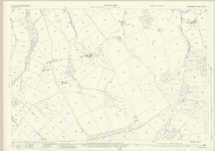 Radnorshire XVIII.3 (includes: Knighton; Norton; Stanage) - 25 Inch Map