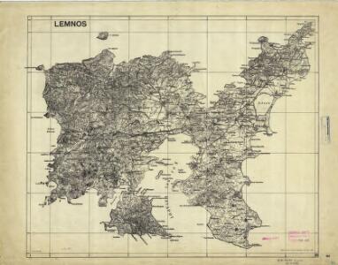 Aegean islands - Lemnos, Samos, Mytilini, Methymna, Series MDR 547