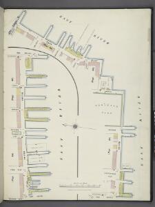Manhattan, V. 1, Plate No. South piers B [Map of south piers B.]