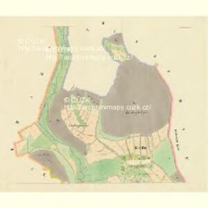 Kralln - c3495-1-002 - Kaiserpflichtexemplar der Landkarten des stabilen Katasters
