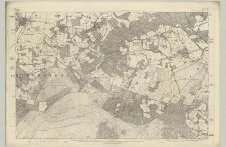 Wiltshire LXXVII - OS Six-Inch Map