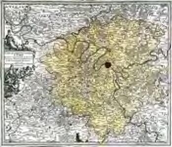 Carte de la prevoste et vicomte de Paris
