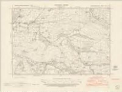 Montgomeryshire XXVI.SW - OS Six-Inch Map