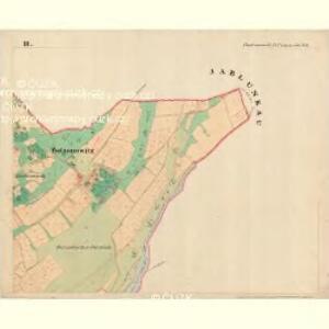 Botzonowitz - m0122-1-003 - Kaiserpflichtexemplar der Landkarten des stabilen Katasters