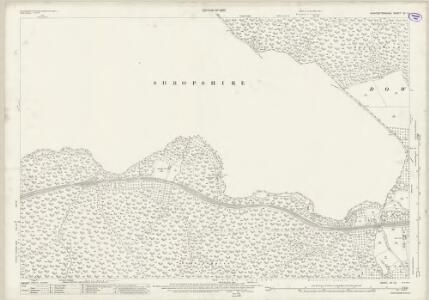 Worcestershire VII.16 (includes: Bewdley; Kinlet; Rock; Upper Arley) - 25 Inch Map