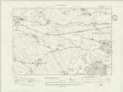 Cheshire XLVII.SE - OS Six-Inch Map