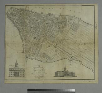 A new map of the city of New York : comprising all the late improvements, compiled and corrected from authentic documents, designed to accompany the Description of New York.