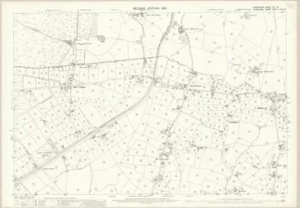Shropshire VII.15 (includes: Bronington; Whitchurch Rural; Whixall) - 25 Inch Map