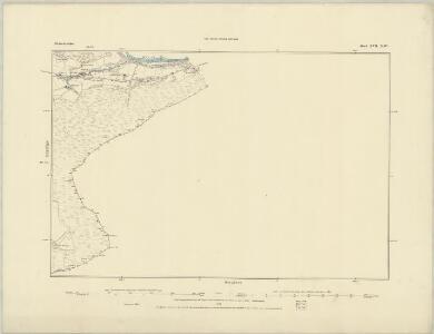 Merionethshire IX.SW - OS Six-Inch Map