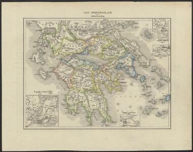 [Historisch-geographischer Atlas zu den allgemeinen Geschichtswerken von C. v. Rotteck, Pölitz u. Becker] : Alt Griechenland