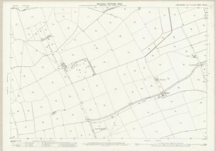 Lincolnshire XCVII.8 (includes: Anwick; Ruskington) - 25 Inch Map