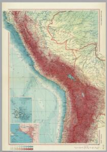 Central Andes.  Pergamon World Atlas.
