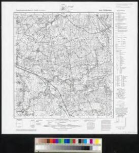 Messtischblatt 0494 : Wilkieten, 1936 Wilkieten