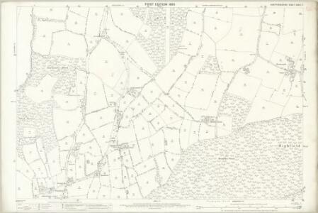 Hertfordshire XXXVI.7 (includes: Bayford; Brickendon Liberty) - 25 Inch Map