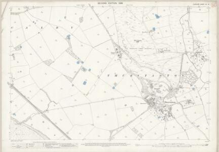 Cheshire XII.16 (includes: Caldy; Thurstaston) - 25 Inch Map