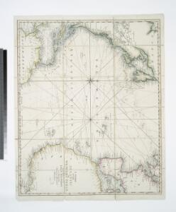 A Chart of the Atlantic or Western Ocean : laid down from the latest discoveries and regulated by numerous astronomical observations.