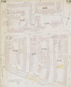 Insurance Plan of London North & North-East District Vol. E: sheet 29