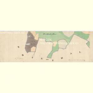 Zahradka - c9069-1-009 - Kaiserpflichtexemplar der Landkarten des stabilen Katasters