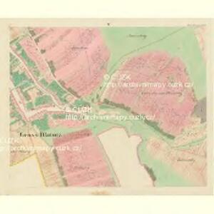 Gross Blatnitz - m0108-1-005 - Kaiserpflichtexemplar der Landkarten des stabilen Katasters