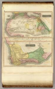 N. Africa, S. Africa.