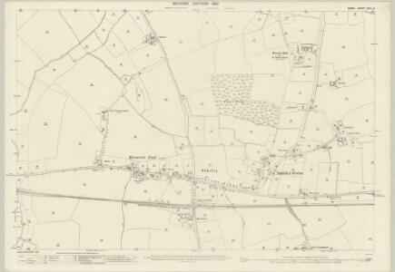 Essex (1st Ed/Rev 1862-96) XXIII.14 (includes: Great Canfield; Hatfield Broad Oak; Takeley) - 25 Inch Map