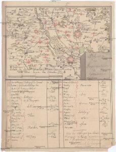 Dislocation du regiment de Grunne