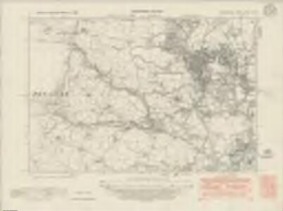 Denbighshire XXXV.NW - OS Six-Inch Map