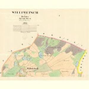 Willimetsch - m0842-1-001 - Kaiserpflichtexemplar der Landkarten des stabilen Katasters