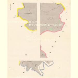 Rennersdorf - c6666-1-001 - Kaiserpflichtexemplar der Landkarten des stabilen Katasters