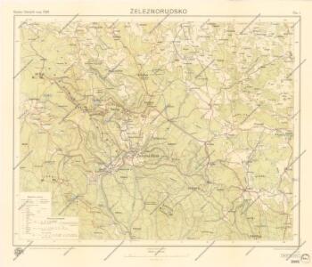 Mapa Železnorudska