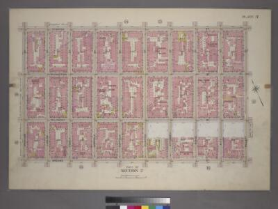 Plate 17, Part of Section 2: [Bounded by Stanton Street, Willett Street, Broome Street, and Orchard Street.]
