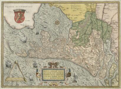 Hollandiae Antiqvorvm Catthorvm Sedis Nova Descriptio