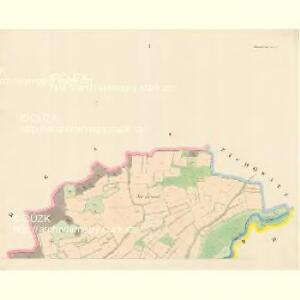 Tieschowitz (Těssauce) - c7899-1-001 - Kaiserpflichtexemplar der Landkarten des stabilen Katasters