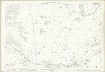 Shropshire XII.1 (includes: Selattyn; Weston Rhyn; Whittington) - 25 Inch Map